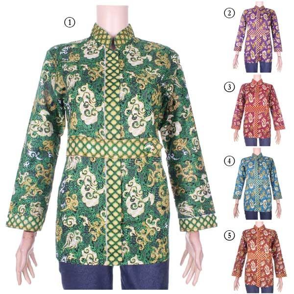 harga Blus batik zelvia Tokopedia.com