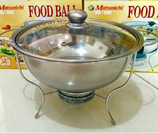 harga Panci prasmanan sup soup stove kompor spirtus pemanas stainless 28cm Tokopedia.com