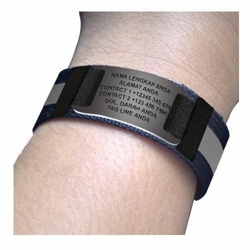 Id Bracelet / Gelang Identitas / Sports Id