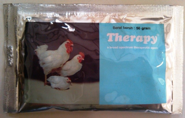 harga Therapy obat kolera crd korisa pullorum pada ayam dan unggas 50gr Tokopedia.com