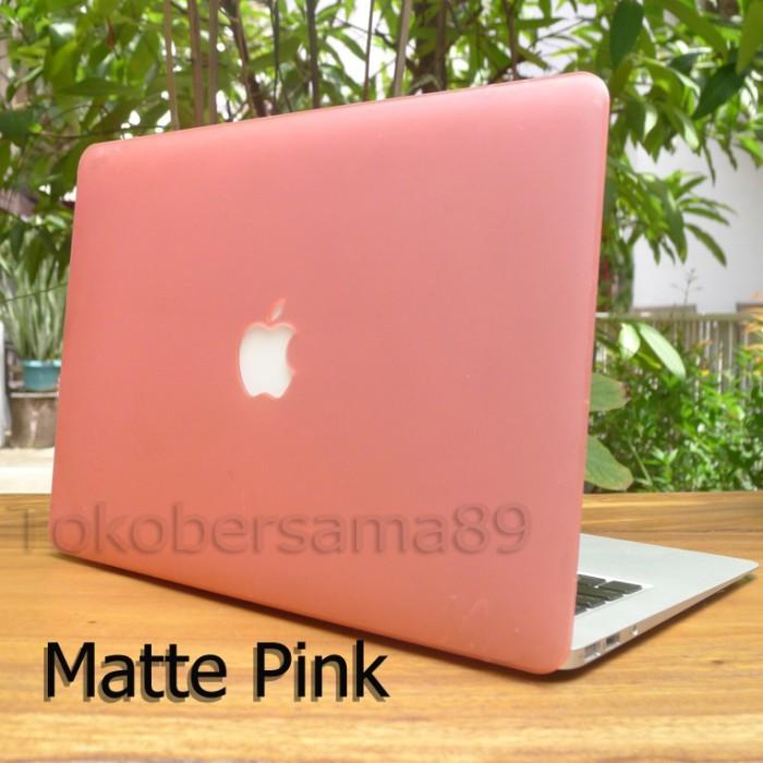 harga Case macbook pro retina 15  matte pink Tokopedia.com