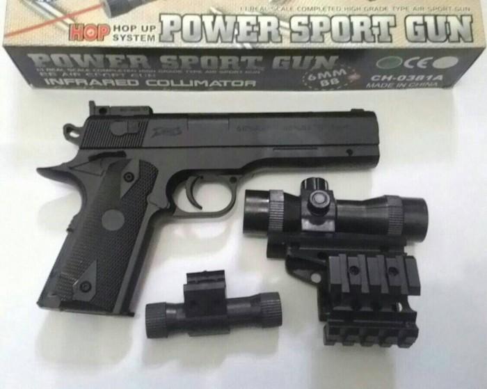 Jual Airsoftgun Pistol Fn 1911 Spring Murah Kota Palembang Sandy Shopmal78 Tokopedia