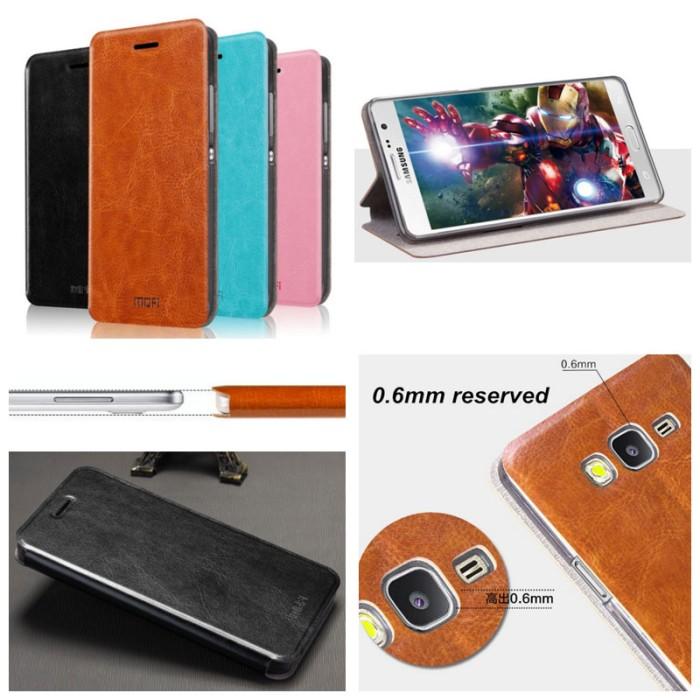 harga Samsung galaxy on7 - mofi core series leather case Tokopedia.com