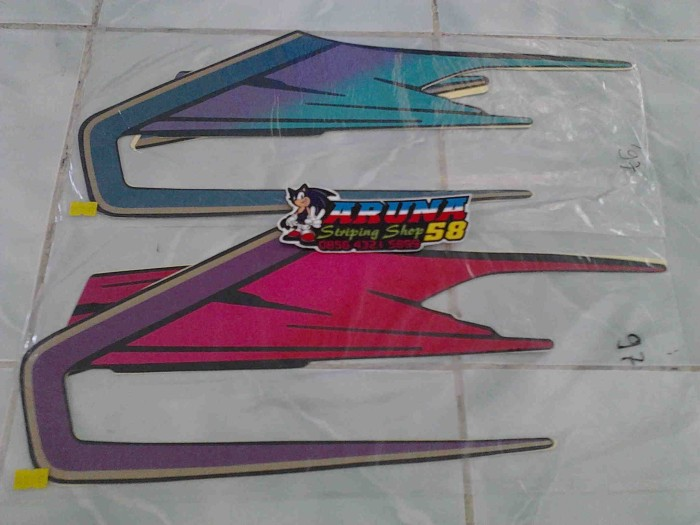 harga Striping/sticker motor rx king 1997 Tokopedia.com