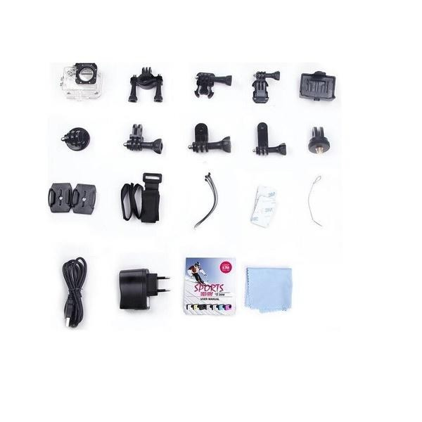 Foto Produk Kogan Action Camera 1080p - 12MP - Putih dari CheapSkates Shop