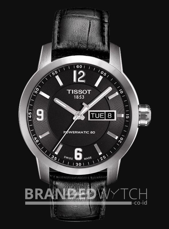 harga Tissot t055.430.16.057.00 prc 200 automatic black silver Tokopedia.com