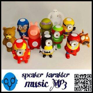 harga Speaker portabel karakter minion Tokopedia.com