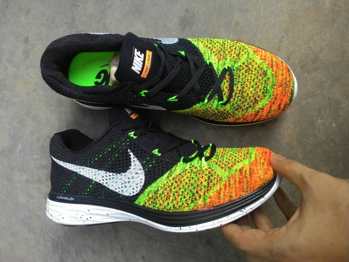 684ad85d8c36 Jual Sepatu Running Nike Flyknit Lunar 3 Multicolor Limited Edition ...