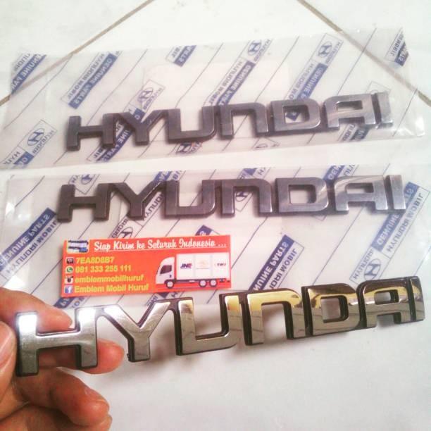Emblem mobil hyundai