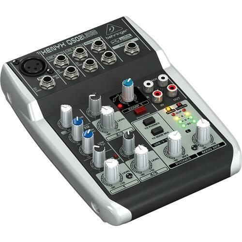 harga Behringer xenyx q502usb - 5 input 2 bus mixer + usb audio interface Tokopedia.com