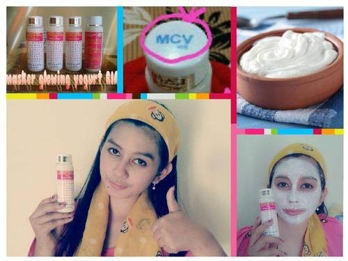 Masker Vitamin Yogurt/ Masker Glowing Yogurt