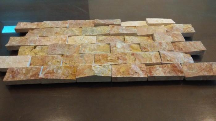 Jual Keramik batu alam model batu bata wastafel batu