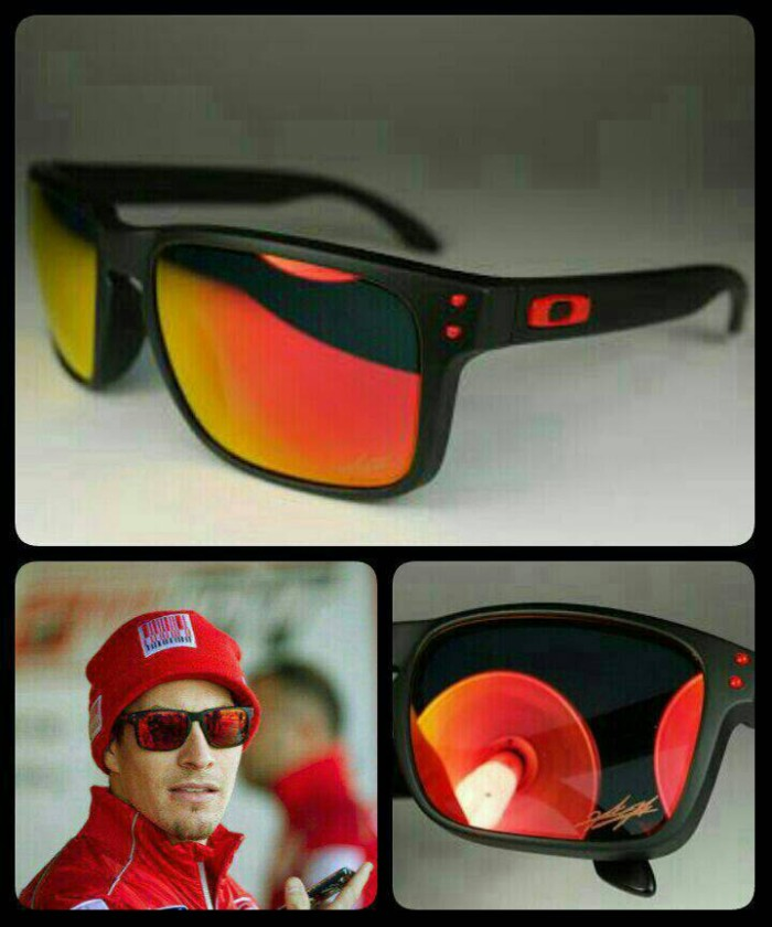 d4dd06ef62d58 Jual Kacamata O Holbrook Nicky Hayden Signature series with Fire ...