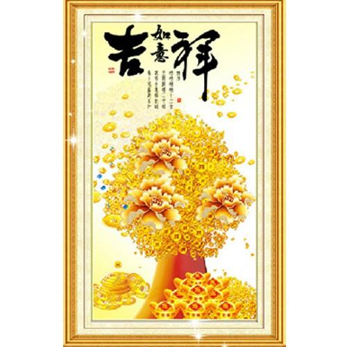 harga Lukisan pohon hokki jixiang/ diamond painting kerajinan tangan 43x75cm Tokopedia.com