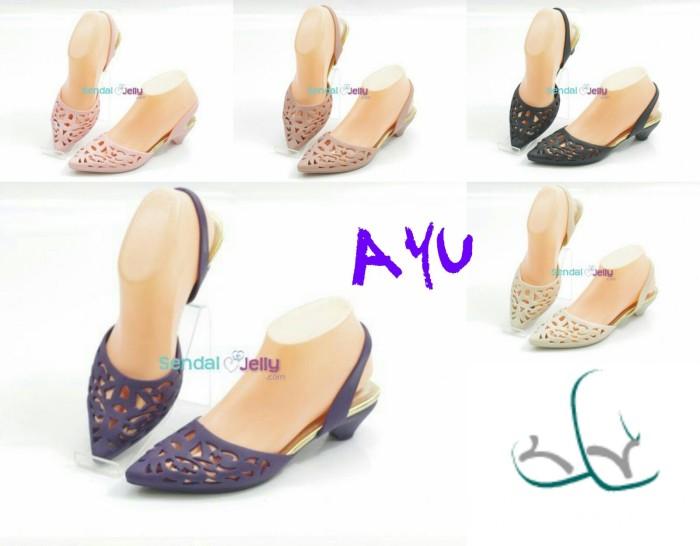 987e35ad423e Jual sandal jelly lancip ayu (sandal jelly lancip
