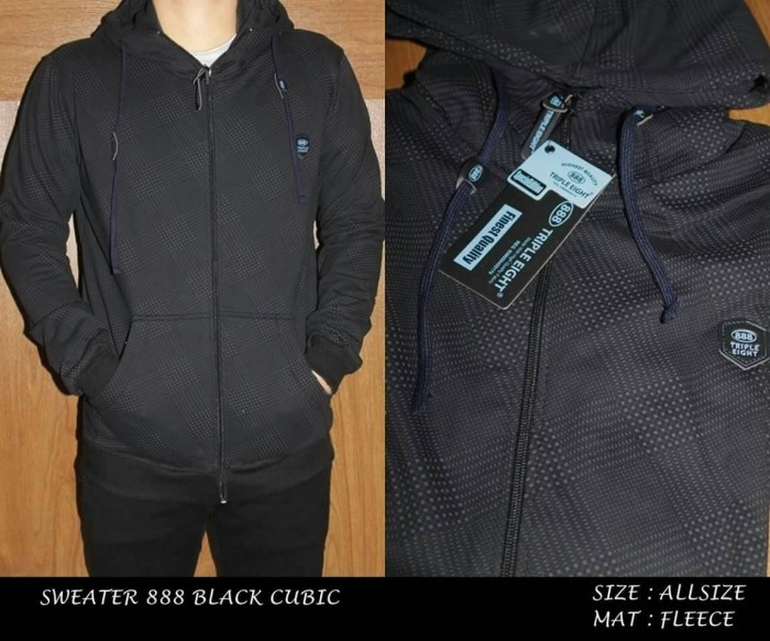 Jual Jaket pria Distro Original kain fleece polos murah grosir hitam ... 0ab468dcc6