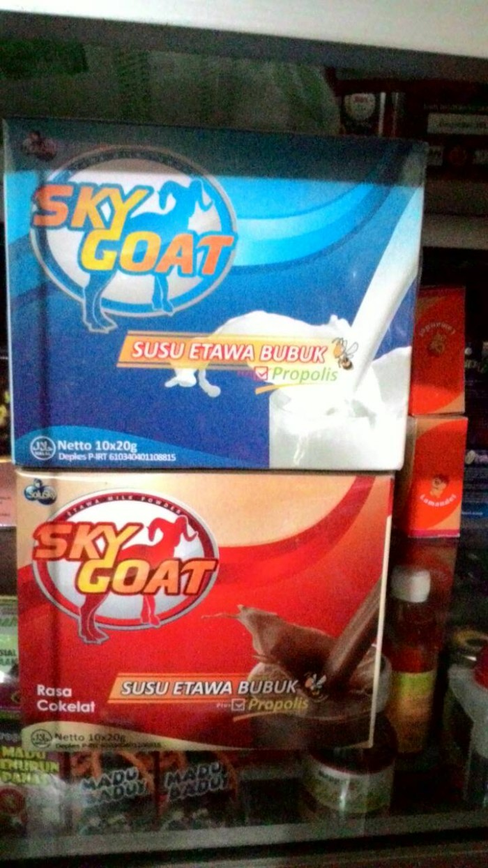 Jual Susu Kambing Sky Goat Plus Propolis As Syifa Herbal Tokopedia