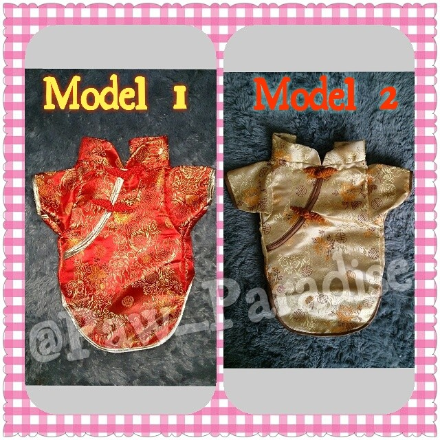 harga Baju anjing cny betina kostum standard chinese new year dog cat kucing Tokopedia.com