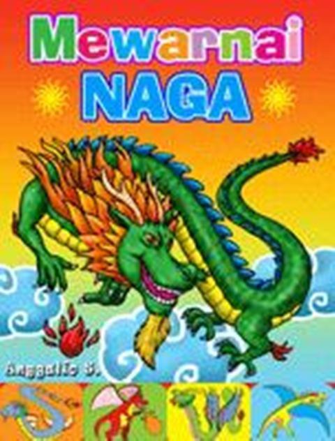 Jual Mewarnai Naga Agromedia Group Tokopedia