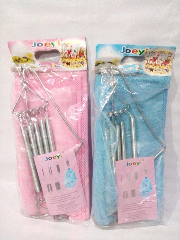 harga Joeyi Set Besi Ayunan Bayi 5 Per + Kain + Kelambu Tokopedia.com