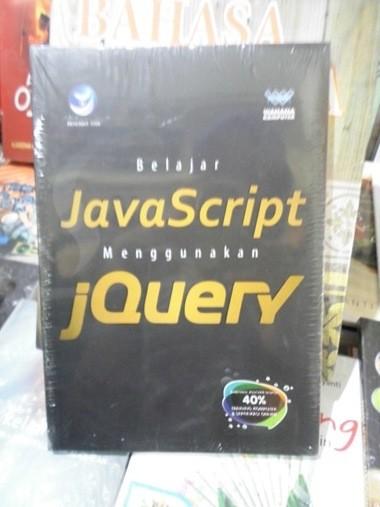 harga Belajar javascript menggunakan jquery Tokopedia.com