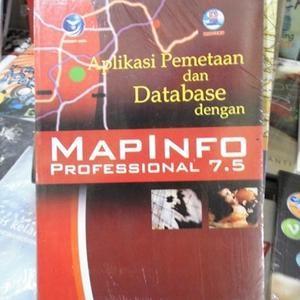harga Aplikasi pemetaan dan database dengan mapinfo professional 7.5 Tokopedia.com