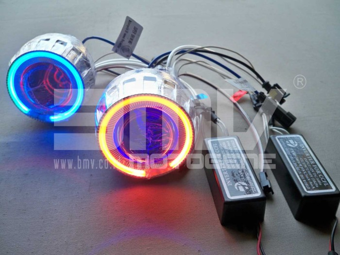 harga Lampu projector 25  hid xenon convex light blue red / red blue Tokopedia.com