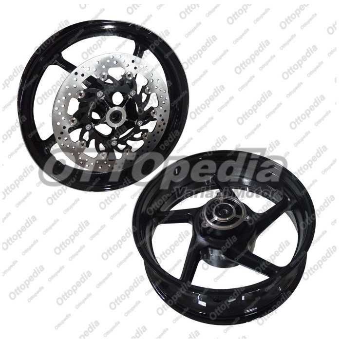 harga Velg racing lebar delkevic ninja 250 fi palang 5 double disc hitam Tokopedia.com