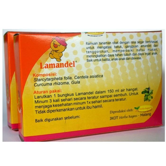 Lamandel Obat Amandel Kemasan Kotak isi 12 Sachet 2
