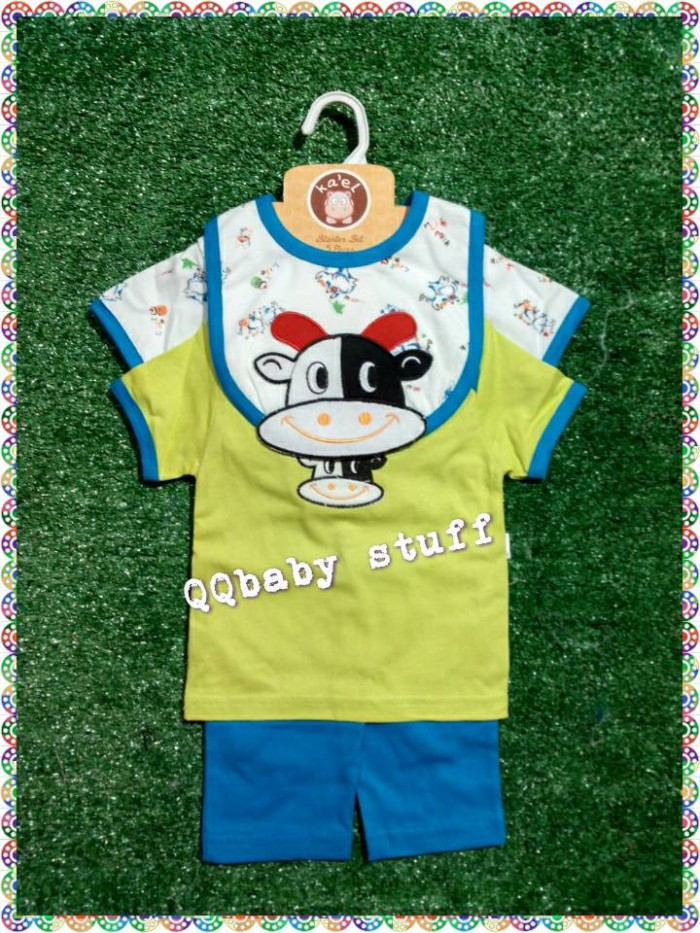 harga Jumper set 4 in 1 cow lucu/baby gift set 4 in 1 baby cow Tokopedia.com