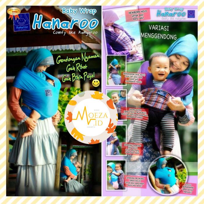 Jual Hanaroo Baby Wrap Polos Gendongan Bayi Babywrap Kanguru Murah