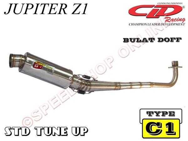 harga Knalpot cld jupiter z1 type c1 silencer bulat doff Tokopedia.com