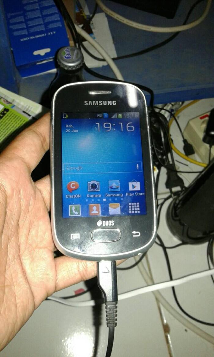 Jual Samsung Galaxy Star Duos Mulus Normal Rahma Cellular Tokopedia Sansung