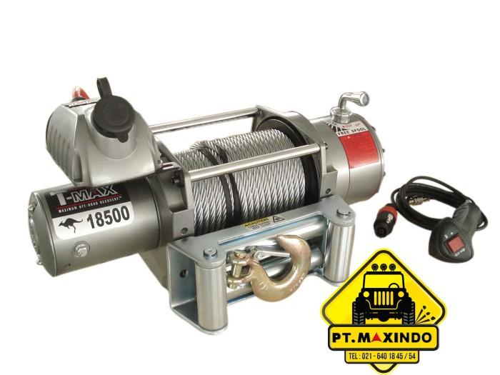 harga T-max electric dc 24 volt winch ew-18500 kapasitas 83 ton Tokopedia.com