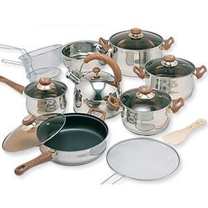 Panci set eco cookware oxone ox933 ox 933