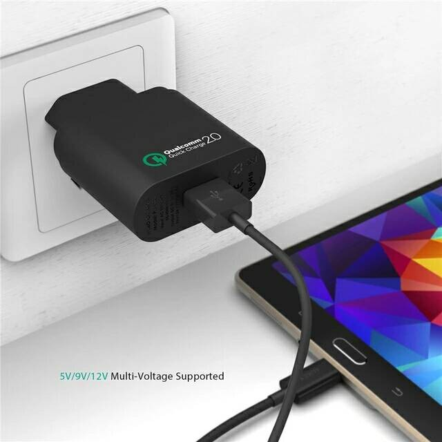 iphone quick charge. quick charge 2.0 turbo charger fast charging iphone ipad samsung asus iphone r
