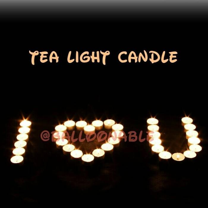 harga Tea light candle / lilin romantis Tokopedia.com