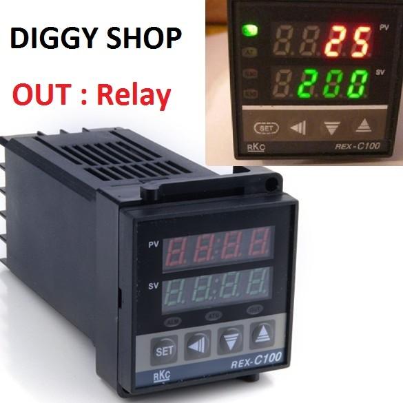 harga Rex c-100 digital pid temperature controller ouput : relay Tokopedia.com