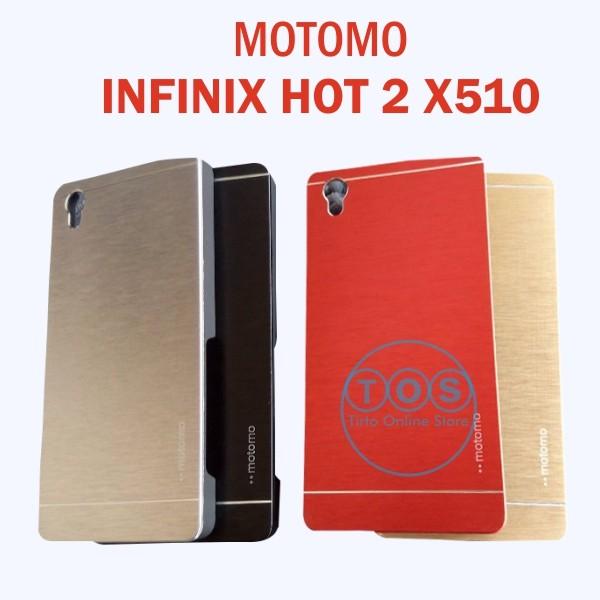 harga Motomo infinix hot 2 x510  android one hard back case hardcase spigen Tokopedia.com