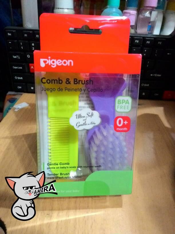 Pigeon Comb & Hair Brush - Sisir dan Sikat Rambut Bayi