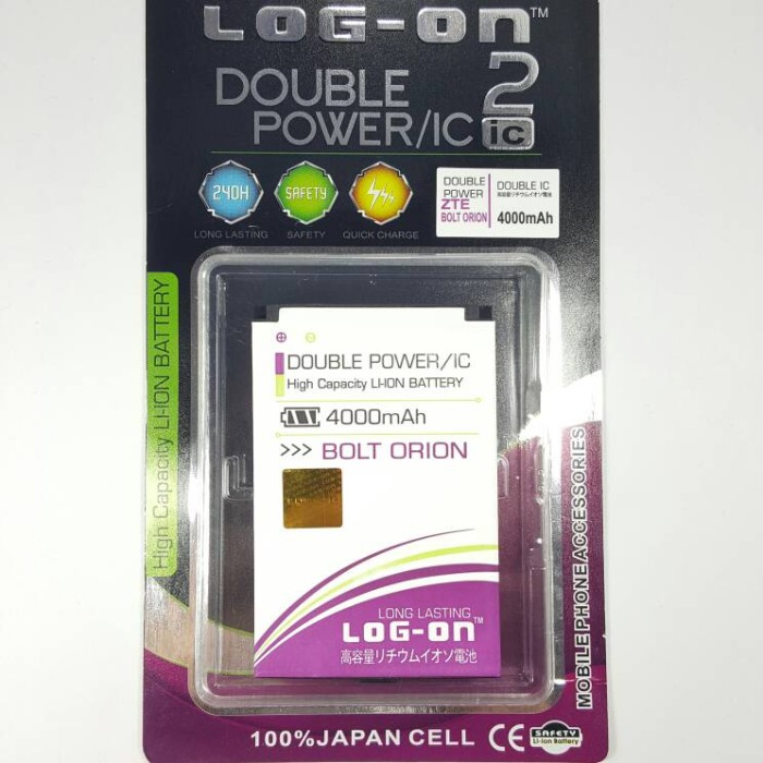 Jual Battery Baterai Modem Bolt ORION Double Power Log On