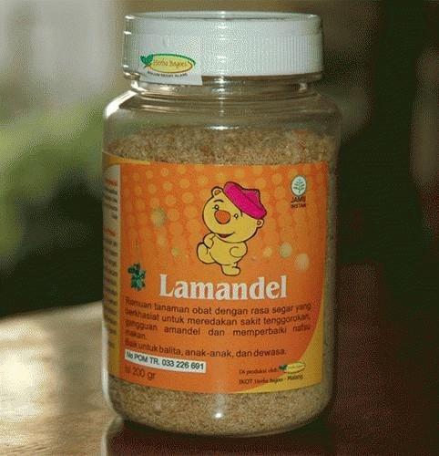 ... harga Lamandel botol obat amandel Tokopedia com