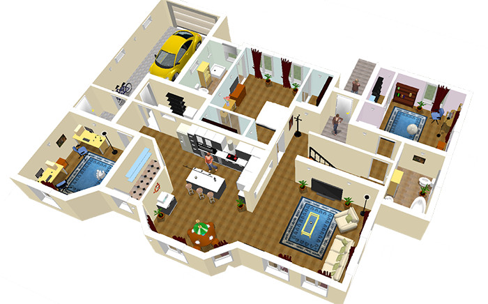 jual software sweet home 3d 4 5 full version your data store tokopedia. Black Bedroom Furniture Sets. Home Design Ideas