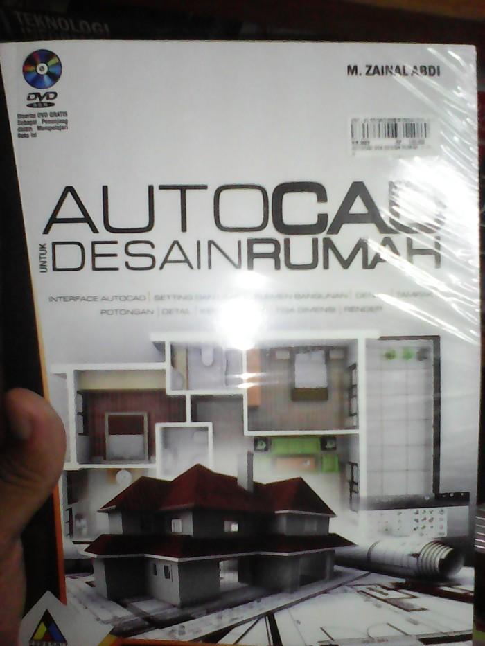 Desain Rumah 2 Lantai Dwg  jual buku autocad untuk desain rumah dvd kota bandung azus shop tokopedia