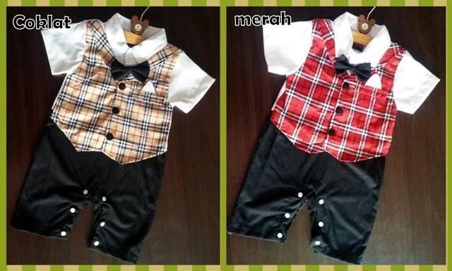 harga Romper tuxedo - formal vest sapu tangan Tokopedia.com