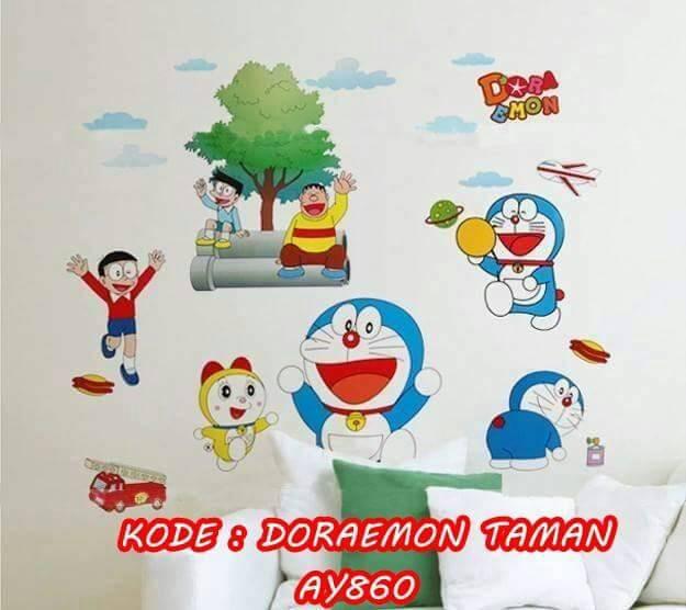 jual wall stiker murah jumbo 60x90 | stiker dinding doraemon - kota