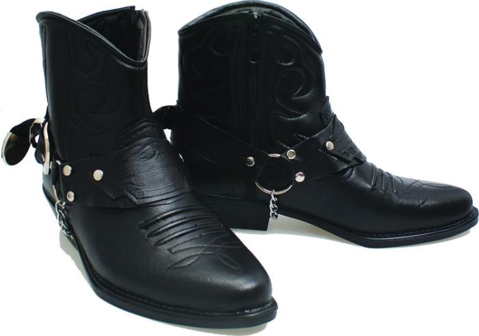 Sepatu boot pria sepatu kulit asli sepatu polri tni bsmsoga bnn 280 56aa7688e5