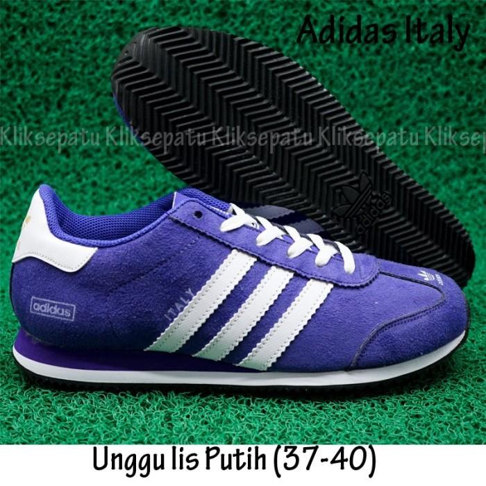 Sepatu Casual   Sepatu Adidas   Sepatu Adidas Italy Unggu Lis Putih 9404149e5f