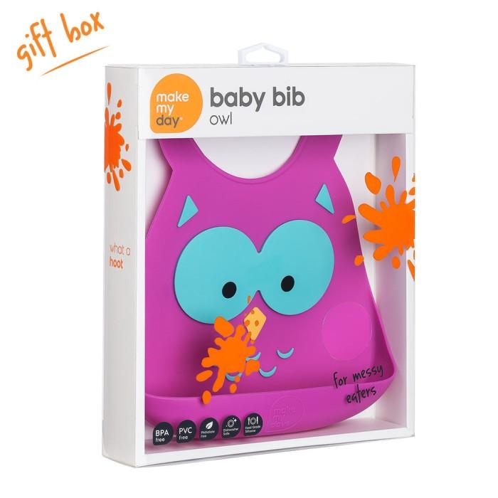 harga Make my day baby bib - what a hoot Tokopedia.com