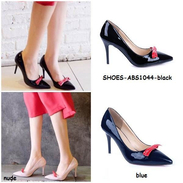 ... harga Sepatu lancip high heels pointed pesta pita shoes kulit korea  import Tokopedia.com 14cc85017a